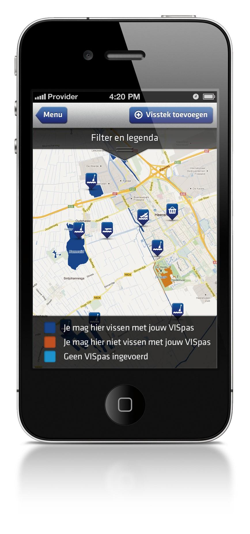 app daten Hollands Kroon