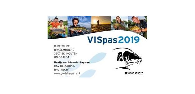 3,000 ha new water in the VISpas