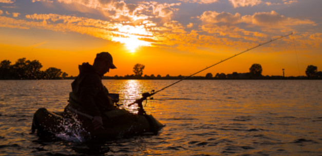 Fishing in Holland-kaart: Maasplassen Roermond