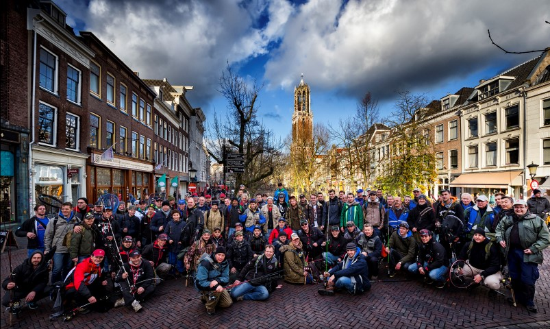 Groot streetfishingevenement in Utrecht