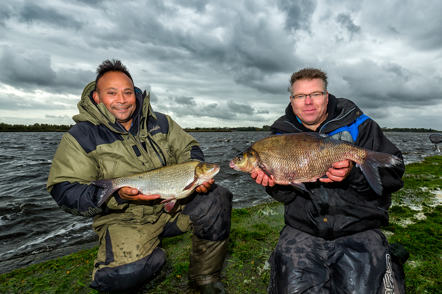 Big ide and bream from the Lauwersmeer