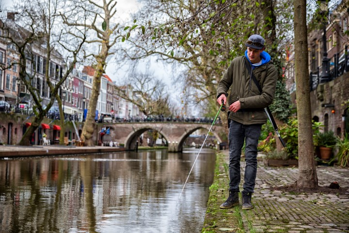 Streetfishing in Utrecht